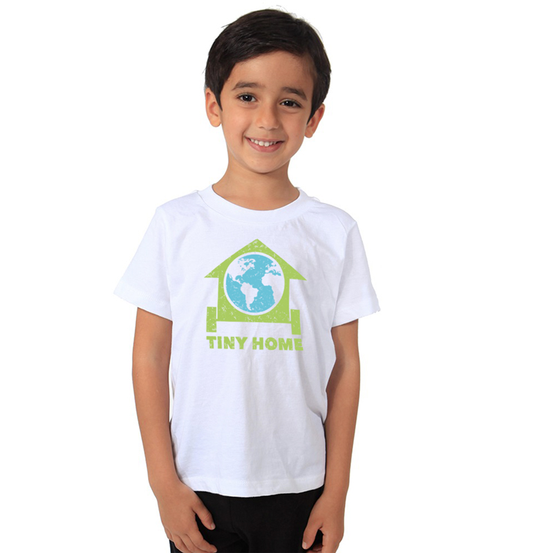 Tiny Home – Organic Toddler Tee