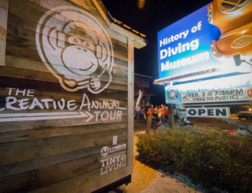 Official Tour Launch Party at The History of Diving Museum